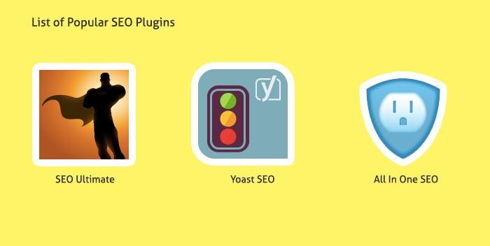 list of wordpress seo plugins