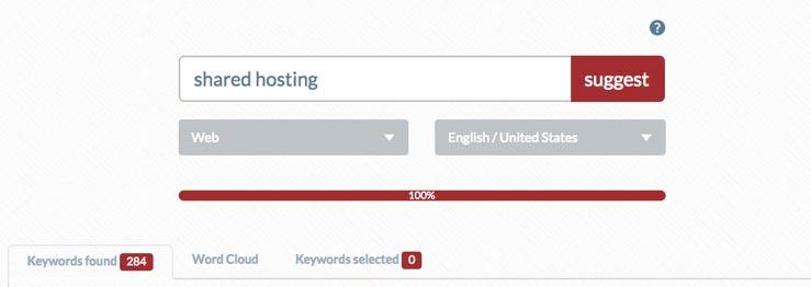 ubersuggest keywords found