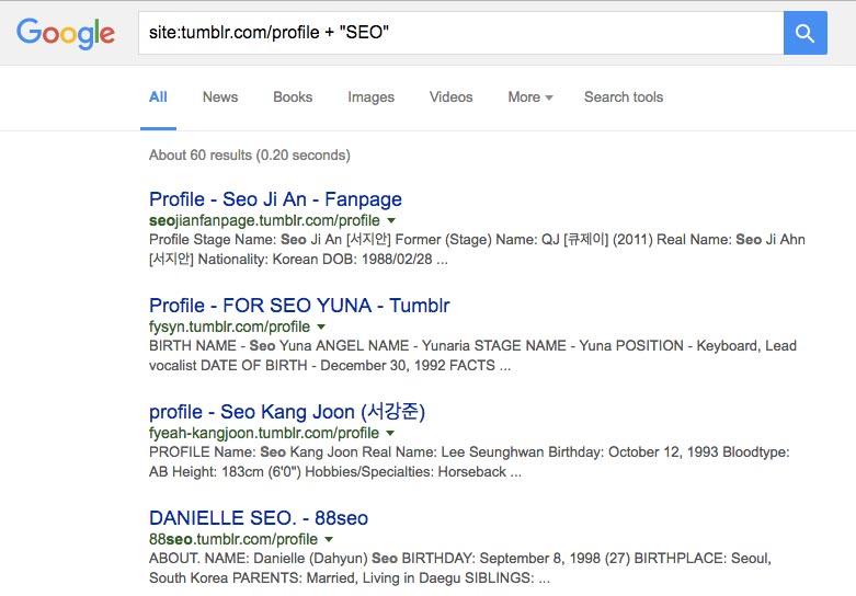 tumblr profiles search