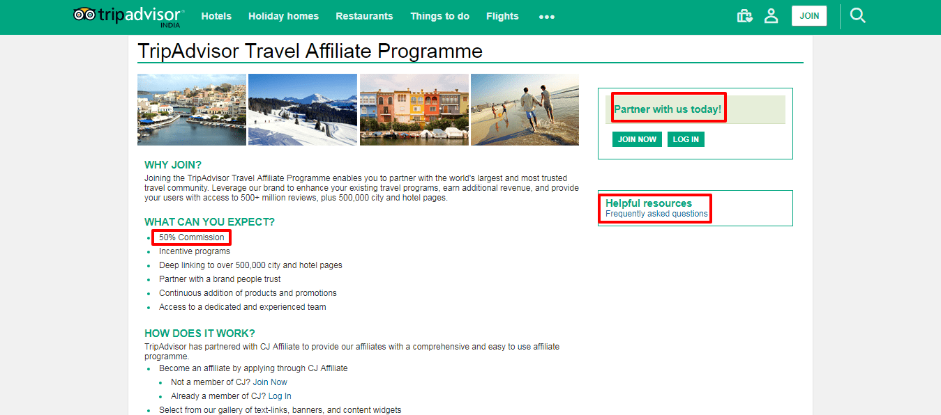 Affiliate Program in Tour and Travel Industry